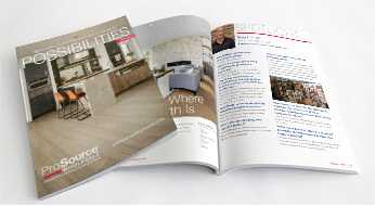 Possibilities catalog - home remodeling tips and ideas - from ProSource Wholesale