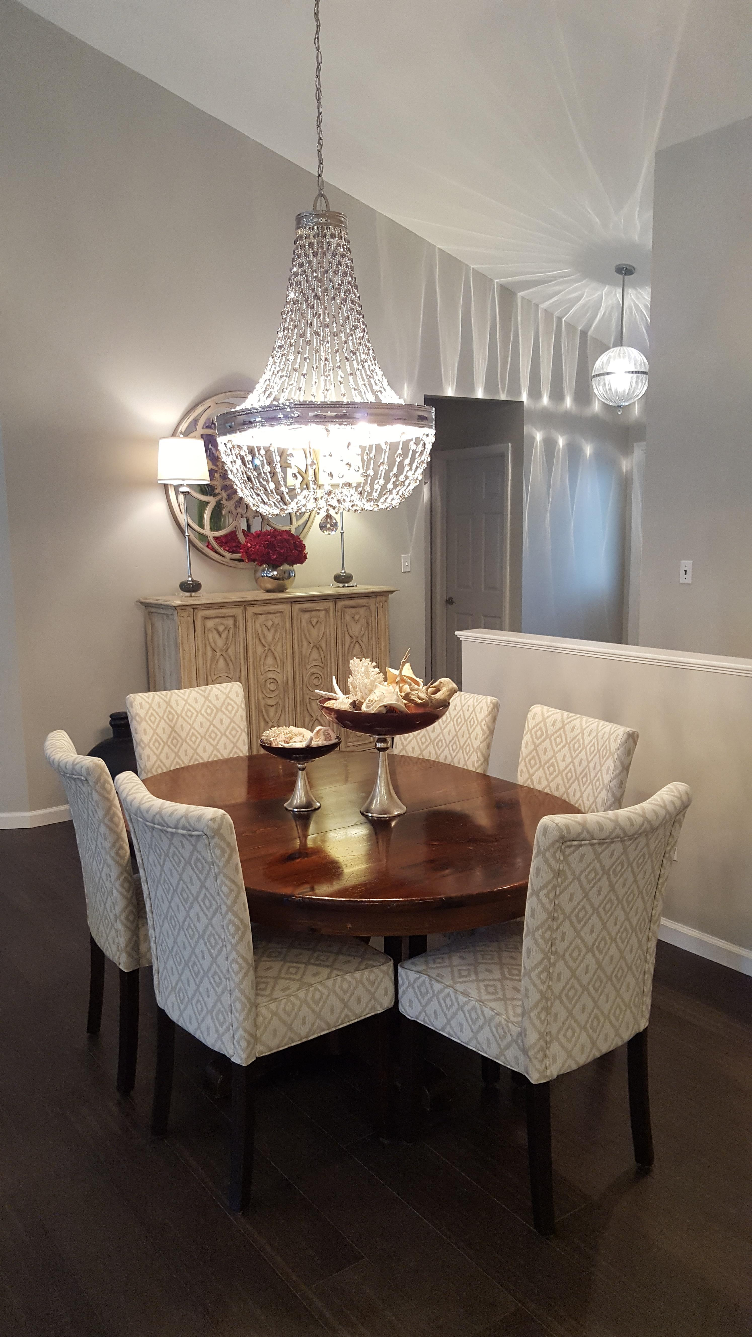 Condo Remodel Showcase: Dining Room   Earth City, MO