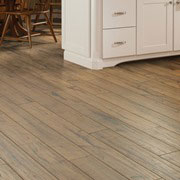 Shaw Whitall laminate in Camber color with hickory look